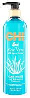 Шампунь для волос активирующий завиток с Алоэ Вера и Нектаром Агавы CHI Aloe Vera Curl Enhancing Shampoo-739мл