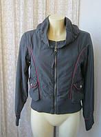 Куртка женская утепленная демисезонная бренд A-wear р.46