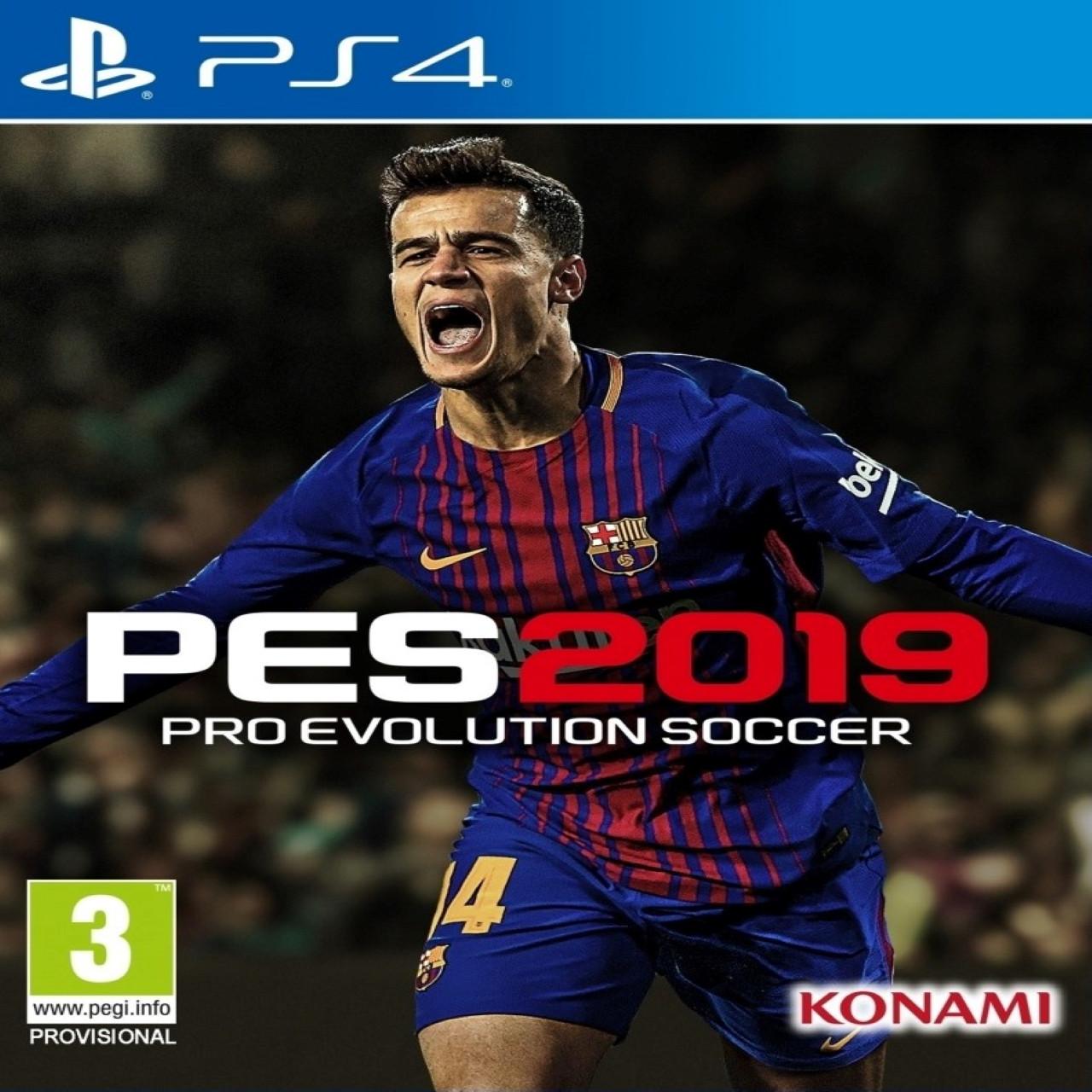 PES 2019 RUS PS4 (NEW)