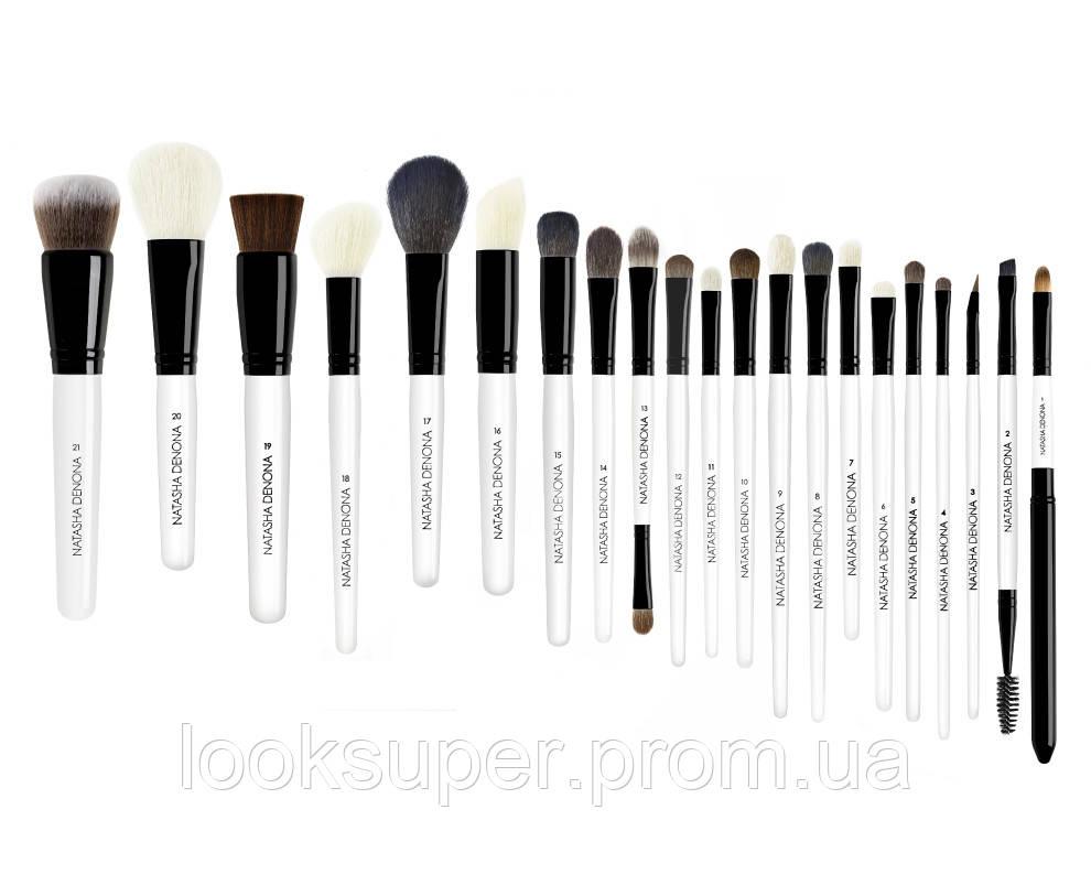 Набор профессиональных кистей для макияжа NATASHA DENONA  Brush Set Pro- 21pc