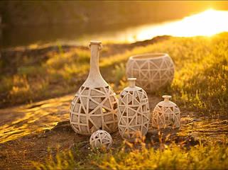 Садовый декор из шамота