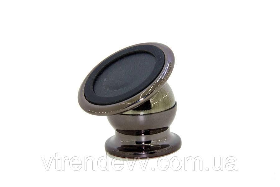 Магнитный держатель автомобильный Mobile Bracket 360 черный