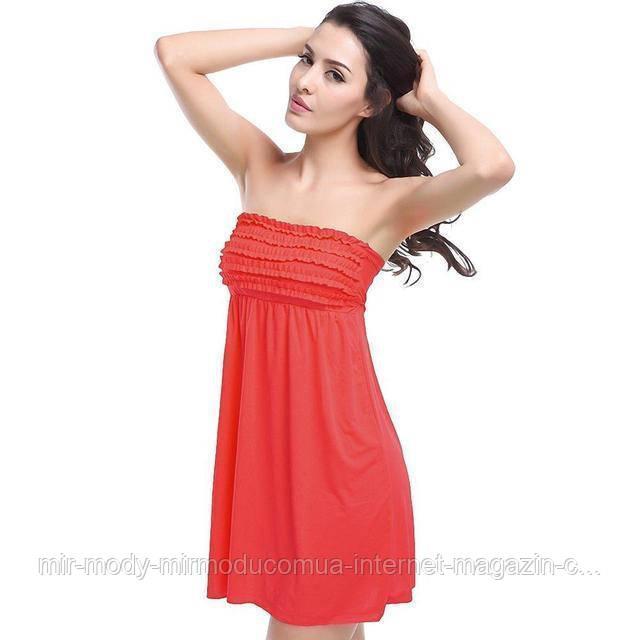 Пляжное платье с резинкой AL6379 -25  9 цветов