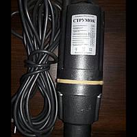 Вибрационный электро насос Струмок для скважин Ø100 мм (нижний забор воды)