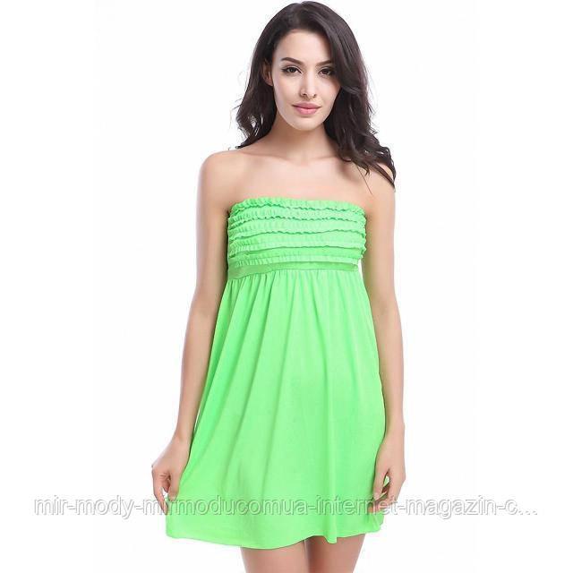 Пляжное платье с резинкой AL6379 -70  9 цветов