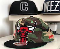 Бейсболка chicago bulls камуфляж