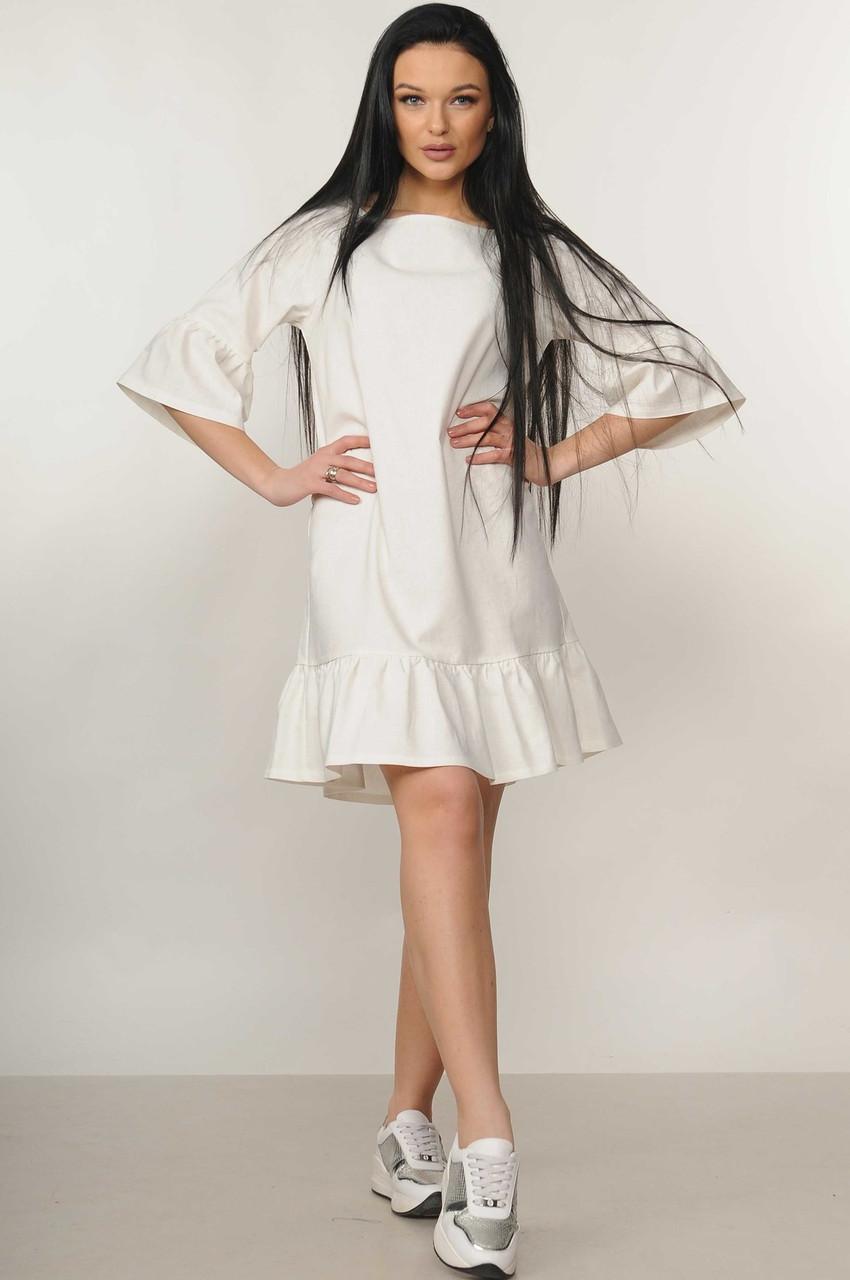 Легкое платье из льна с 42 по 52 размер