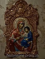 Панно из гипса «БОЖЬЯ МАТЕРЬ»