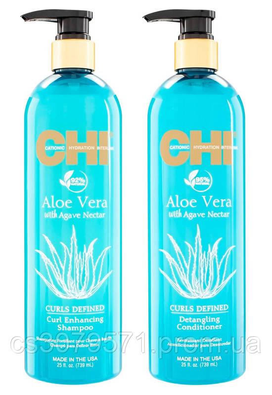 Шампунь для волос активирующий завиток + Кондиционер для распутывания волос | 739мл + 739мл