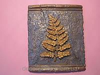 Гипсовое панно Лист папоротника, фото 1