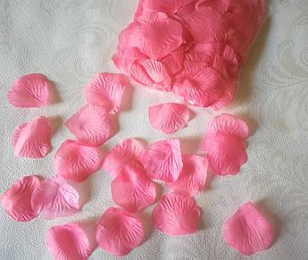 Лепестки роз, нежно коралловые
