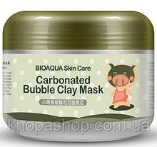Товар мега скидка! Для заказов от 1500 грн. Маска свинка  Bioaqua carbonated bubble clay mask 100грамм.
