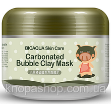 Товар мега знижка! Для замовлень від 1500 грн. Маска свинка Bioaqua carbonated bubble clay mask 100грам.