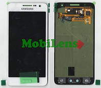 Samsung A300, A300F, Galaxy A3 (2015) Дисплей+тачскрин(модуль) белый Original (AMOLED)