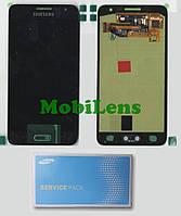 Samsung A300, GH97-16747, A300F, Galaxy A3 (2015) Дисплей+тачскрин(модуль) черный Original (Service Pack)