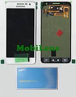 Samsung A300, GH97-16747, A300F, Galaxy A3 (2015) Дисплей+тачскрин(модуль) белый Original (Service Pack)