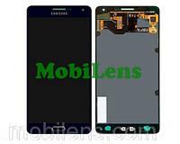 Samsung A700, A700F, Galaxy A7 (2015) Дисплей+тачскрин(модуль) черный (темно-синий) Original (AMOLED)