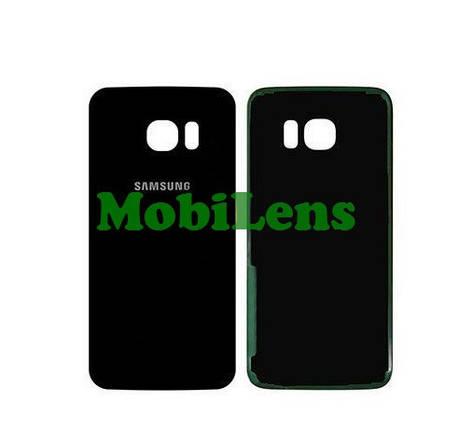 Samsung G935, G935F, Galaxy S7 Edge Задняя крышка черная, фото 2