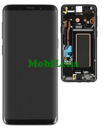 Samsung G960, G960F, Galaxy S9 Дисплей+тачскрин(модуль) *в черной рамке Midnight Black Original (AMOLED), фото 2