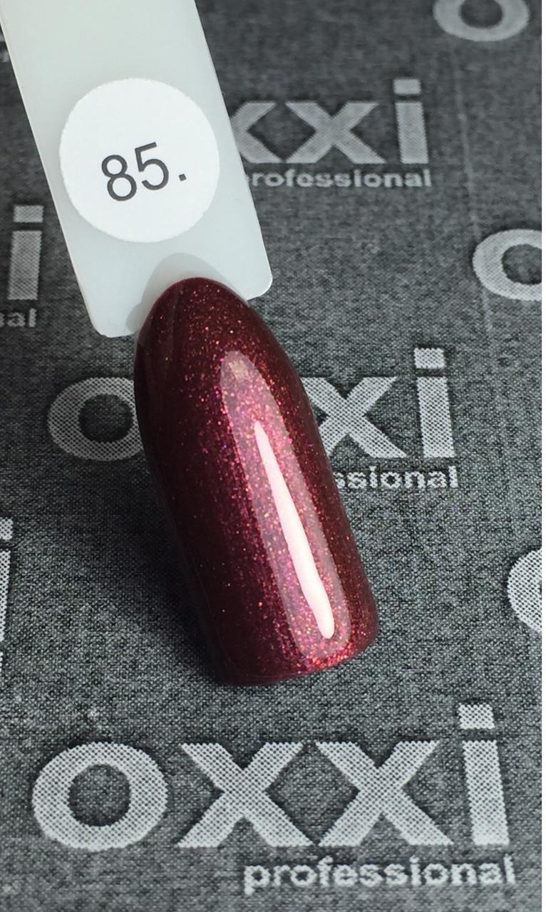 Гель лак OXXI № 085