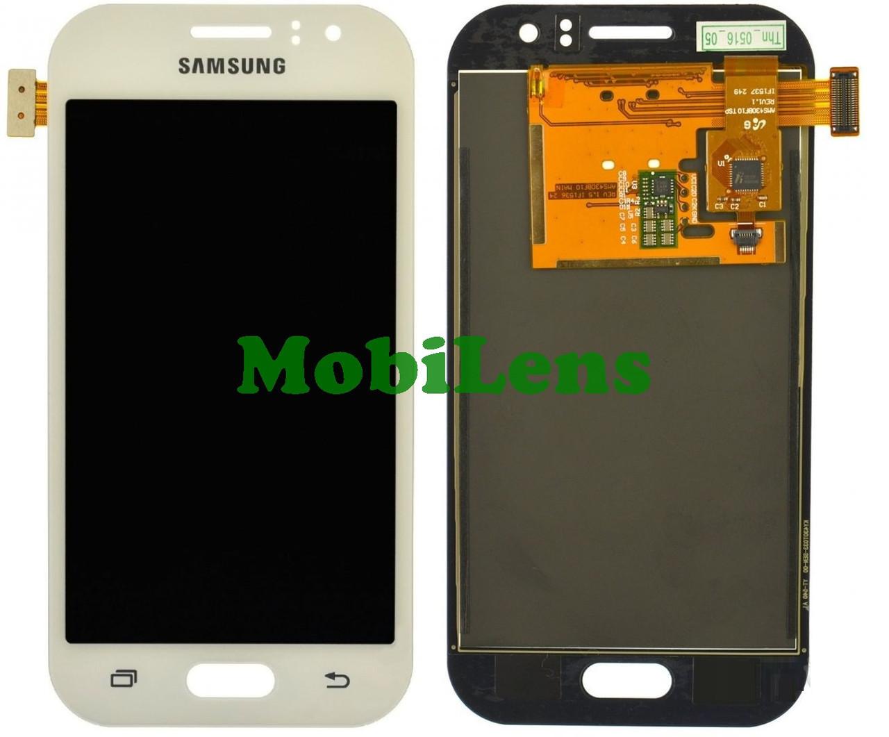 Samsung J110, J110H, J111F, Galaxy J1 Ace Neo Дисплей+тачскрин(модуль) белый High Copy (OLED)