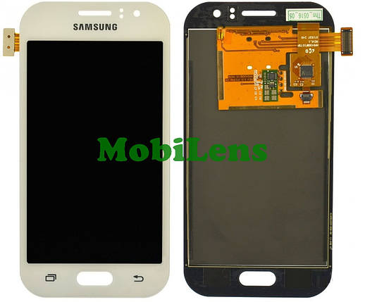 Samsung J110, J110H, J111F, Galaxy J1 Ace Neo Дисплей+тачскрин(модуль) белый High Copy (OLED), фото 2