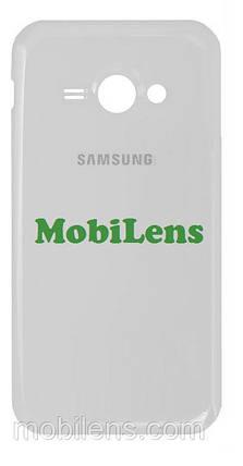 Samsung J110, J110H, J111F, Galaxy J1 Ace Neo Задняя крышка белая, фото 2