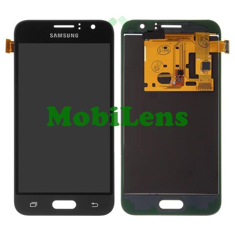 Samsung J120, J120H, Galaxy J1 (2016) Дисплей+тачскрин(модуль) черный Сopy (TFT *с регулировкой яркости)