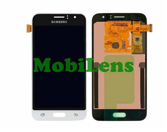 Samsung J120, J120H, Galaxy J1 (2016) Дисплей+тачскрин(модуль) белый Original (AMOLED), фото 2