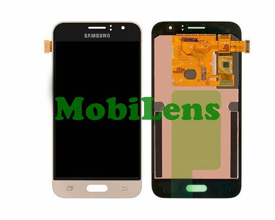 Samsung J120, J120H, Galaxy J1 (2016) Дисплей+тачскрин(модуль) золотистый Original (AMOLED), фото 2