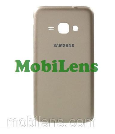 Samsung J120, J120H, Galaxy J1 (2016) Задняя крышка золотистая