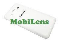 Samsung J200, J200H, Galaxy J2 Задняя крышка белая, фото 2