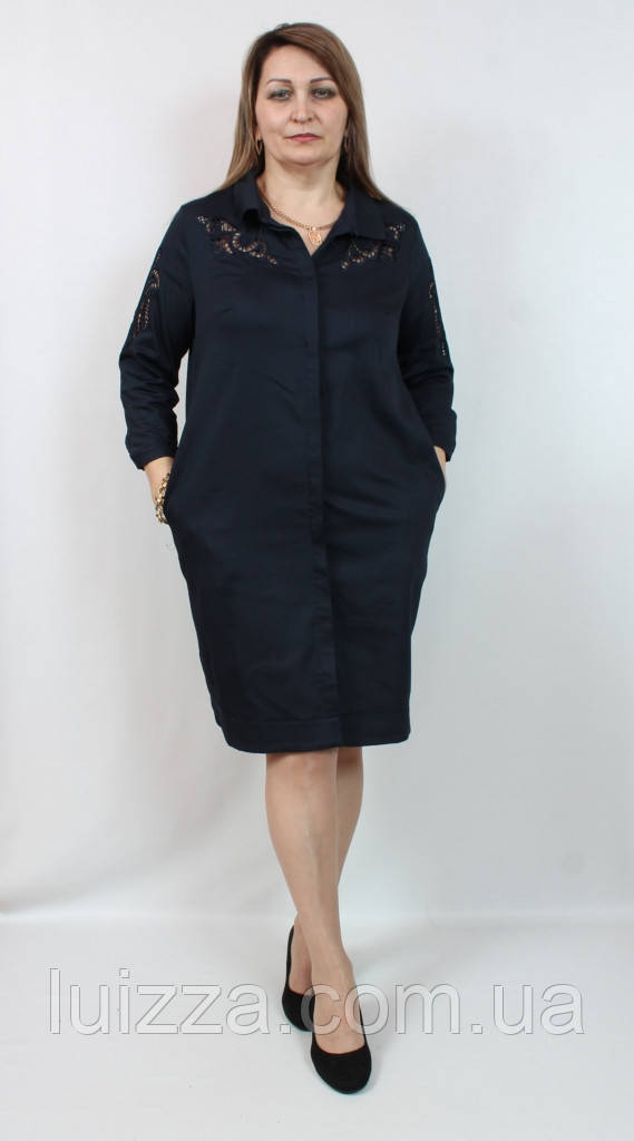 Женское турецкое платье STELLA 48-54р
