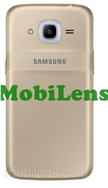 Samsung J210, J210H, Galaxy J2 (2016) Задняя крышка золотистая