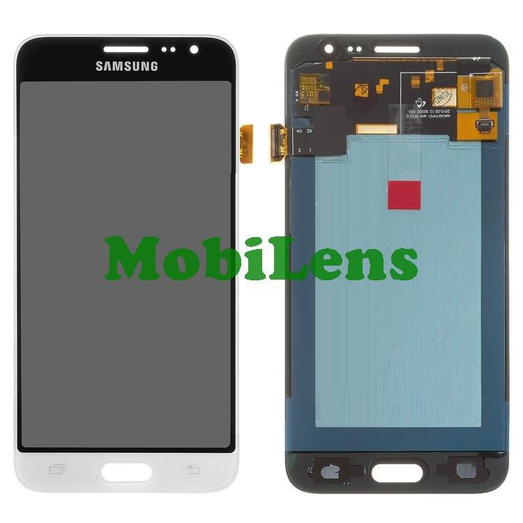 Samsung J320, J320H, J310, Galaxy J3 (2016) Дисплей+тачскрин(модуль) белый High Copy (OLED)
