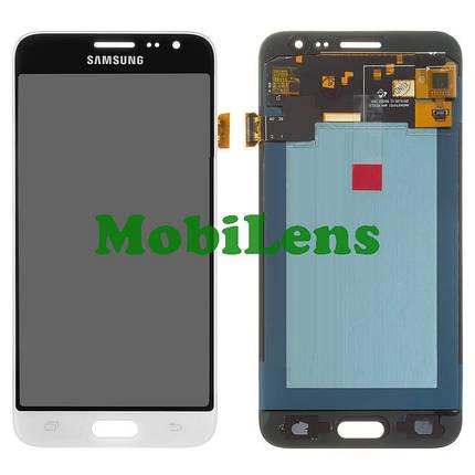 Samsung J320, J320H, J310, Galaxy J3 (2016) Дисплей+тачскрин(модуль) белый High Copy (OLED), фото 2