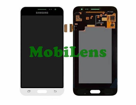 Samsung J320, J320H, J310, Galaxy J3 (2016) Дисплей+тачскрин(модуль) белый Original (AMOLED), фото 2
