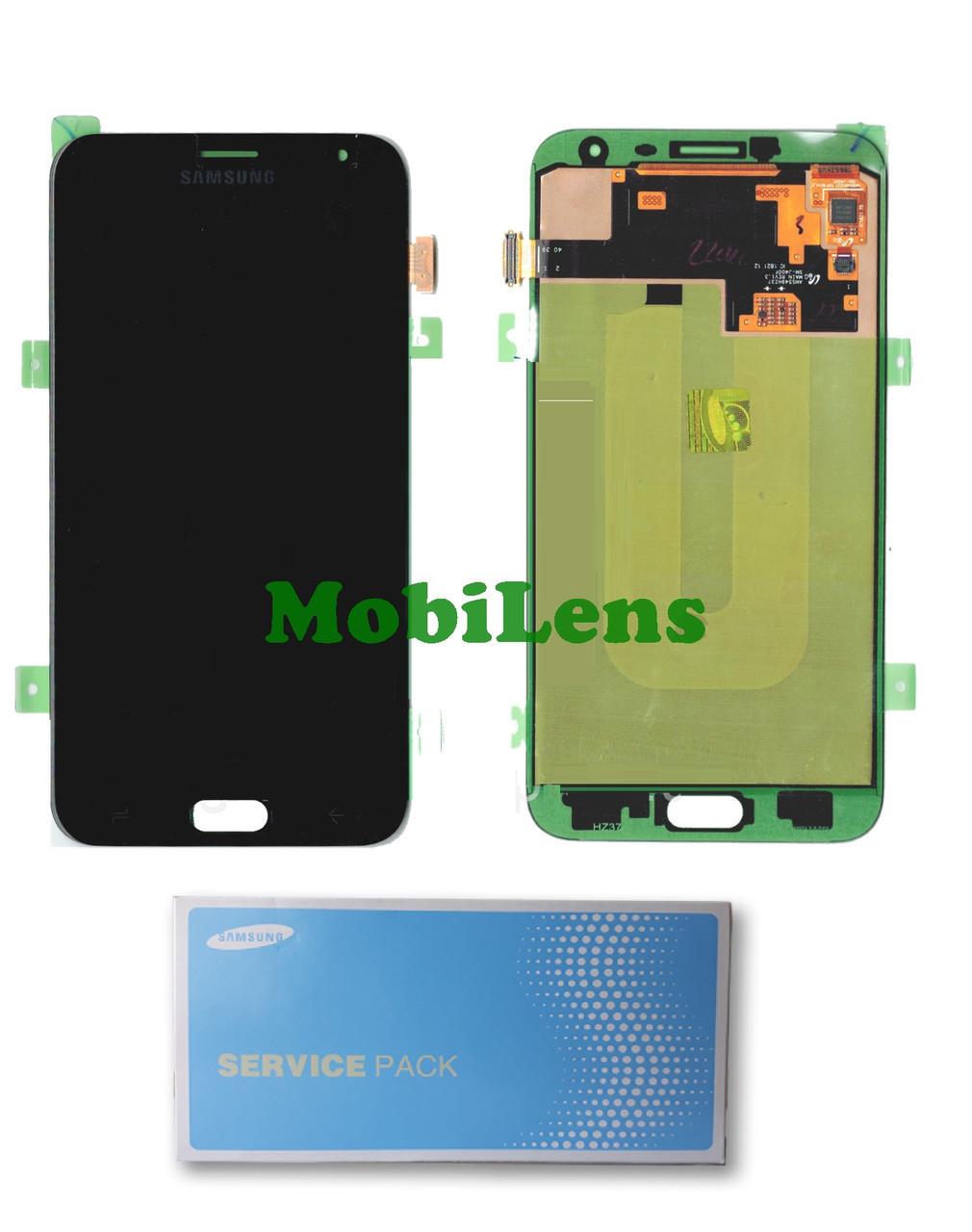 Samsung J400, GH97-21915, J400F, Galaxy J4 (2018) Дисплей+тачскрин(модуль) черный Original (Service Pack)