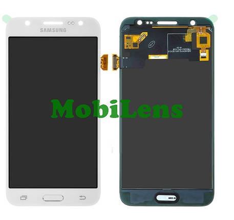 Samsung J500, J500H, Galaxy J5 (2015) Дисплей+тачскрин(модуль) белый Сopy (TFT *с регулировкой яркости), фото 2