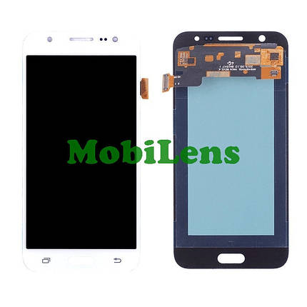 Samsung J500, J500H, Galaxy J5 (2015) Дисплей+тачскрин(модуль) белый High Copy (OLED), фото 2