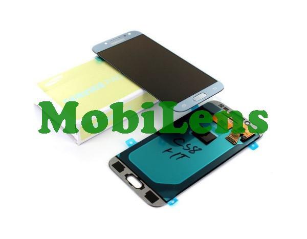 Samsung J530, GH97-20738, J530F, Galaxy J5 (2017) Дисплей+тачскрин(модуль) серебристо-голубой Original Service