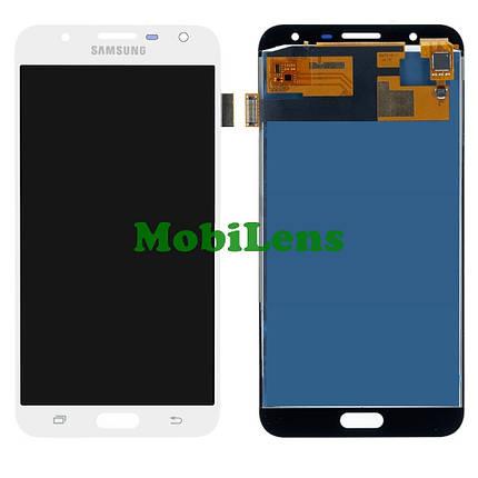Samsung J701, J701F, Galaxy J7 Neo, Galaxy J7 Core Дисплей+тачскрин белый Сopy (TFT *с регулировкой яркости), фото 2