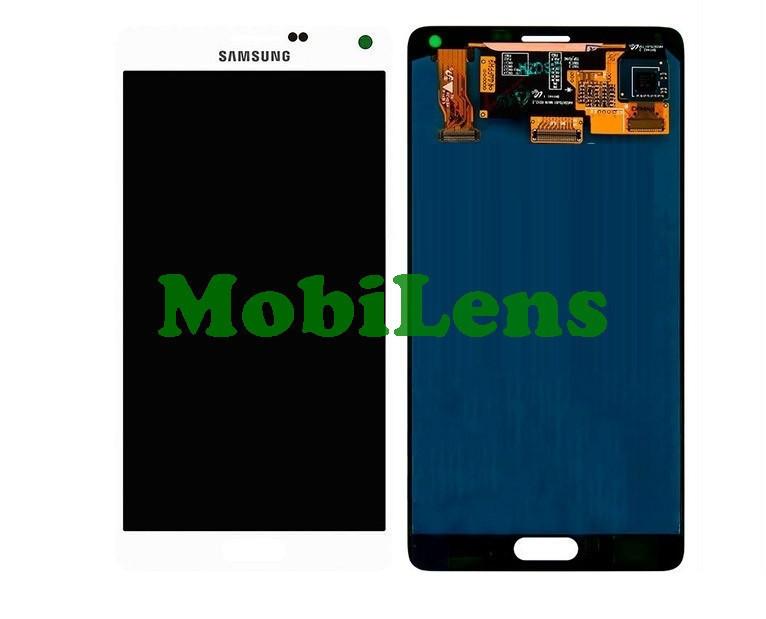 Samsung N910, N910H, N910C, Galaxy Note 4 Дисплей+тачскрин(модуль) белый Original (AMOLED)