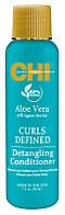 Кондиционер для вьющихся волос CHI Aloe Vera Detangling Conditioner, 80 мл