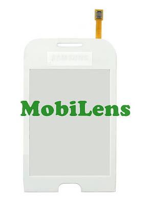 Samsung C3312 Тачскрин (сенсор) белый, фото 2
