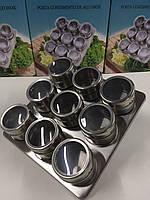 Набор для специй на магнитной подставке 9шт Benson BN-007