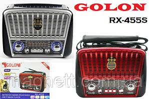 Радиоприёмник с солнечной панелью 3в1 FM GOLON RX-455S