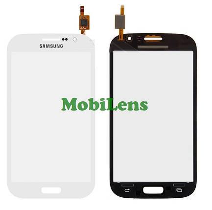 Samsung i9060i, Galaxy Grand Neo Plus Тачскрин (сенсор) белый, фото 2