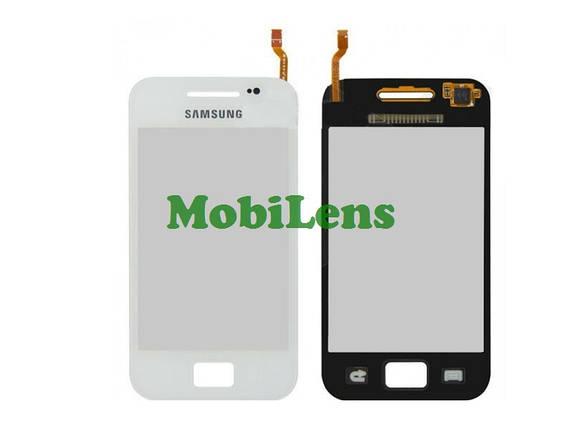Samsung S5830i, S5839i Galaxy Ace Тачскрин (сенсор) белый, фото 2