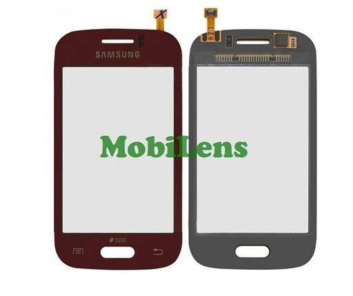 Samsung S6310, S6312 Galaxy Young Тачскрин (сенсор) красный, фото 2